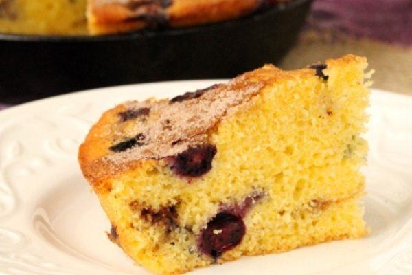 Пирог с черникой рецепт простой в духовке