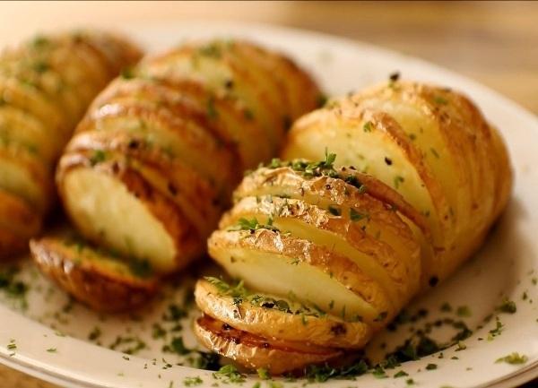 Рецепт картошки гармошки в духовке