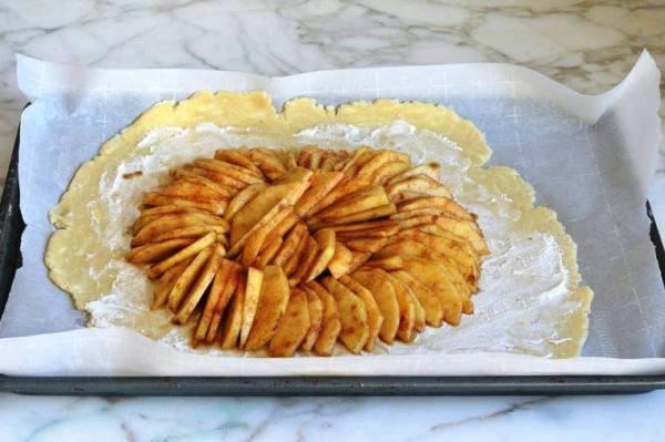 Рецепт яблочного пирога в духовке простой домашний