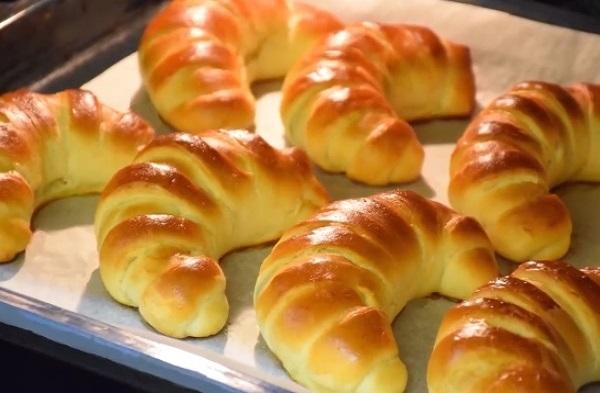 Рогалики с ореховой начинкой рецепт