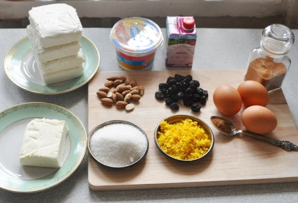 Творожная пасха царская рецепт заварной пасхи