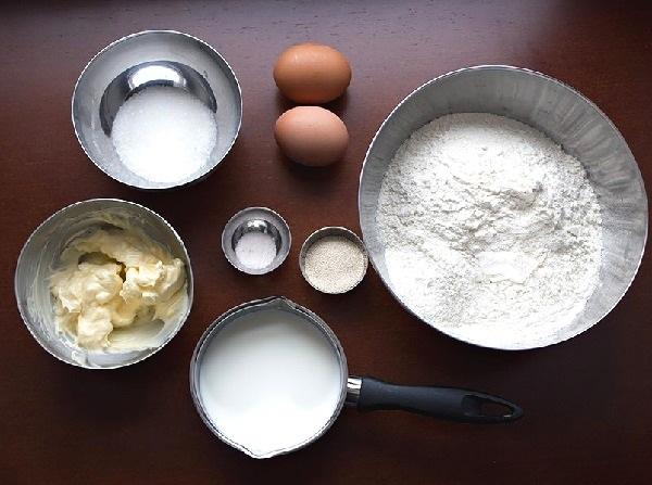 Рецепт булочек с маком