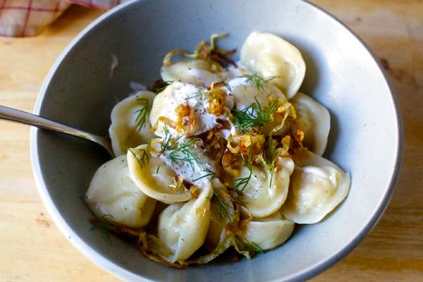 Вареники с картошкой и луком рецепт видео