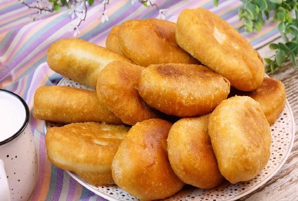 Дрожжевое тесто для жареных пирожков: рецепт приготовления