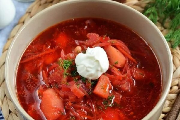 Вкусный красный борщ рецепт пошаговый с фото