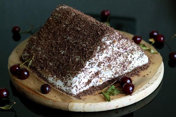 Торт монастырская изба пошагово с фото