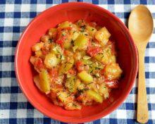 Кабачки тушеные с овощами пошаговый рецепт