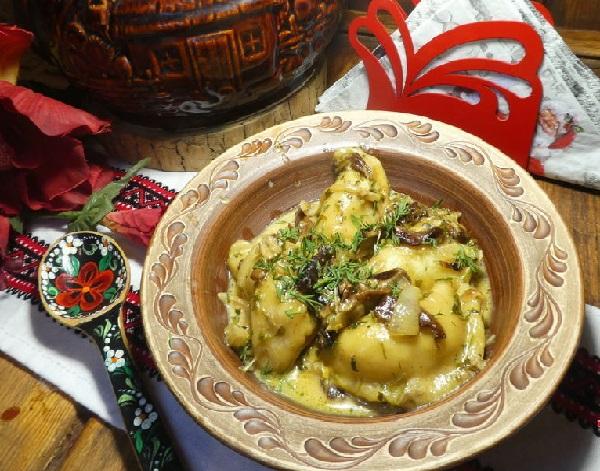 Рецепт приготовления вареников с квашеной капустой