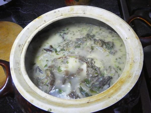 Вареники с квашеной капустой и грибами рецепт