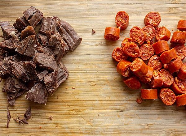 Рецепт солянки мясной сборной с картошкой