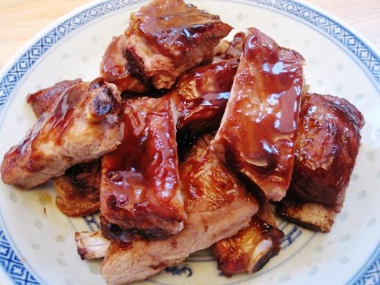 свиные ребрышки в духовке