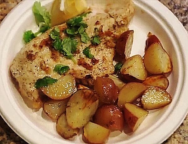 Куриная грудка и нежный картофель