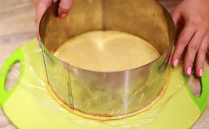 Торт молочная девочка с маскарпоне