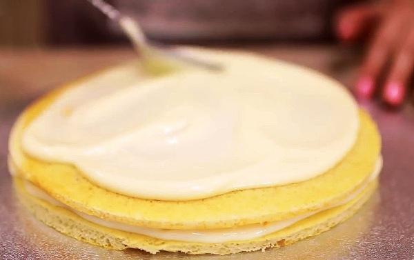 Торт молочная девочка рецепт с кремом