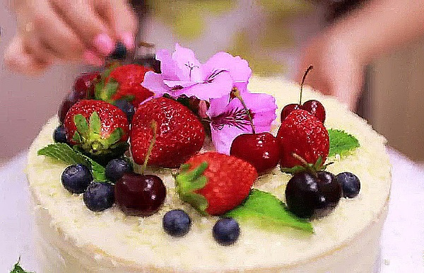 Торт молочная девочка пошагово
