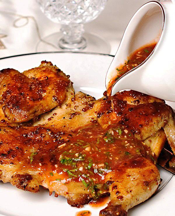 цыпленок табака фото рецепт соуса, оставшимся