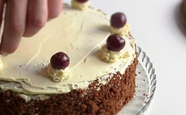 Украшаем наш тортик