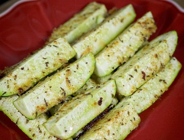 Рецепт запеченных кабачков в духовке с сыром