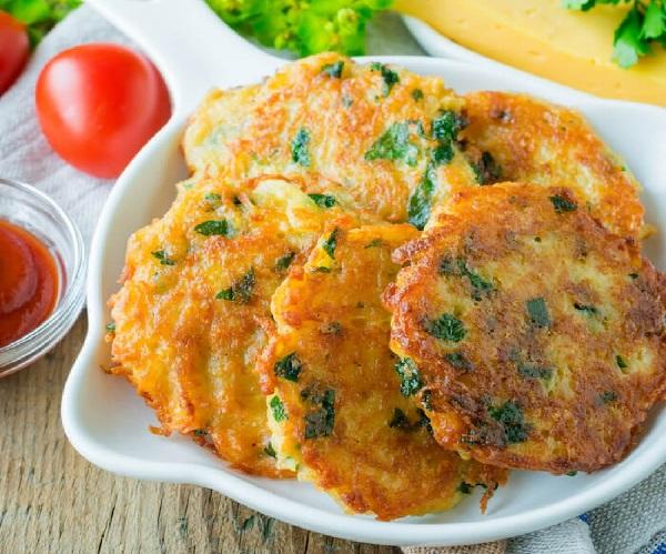 Драники картофельные с сыром рецепт