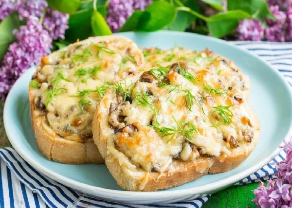 Горячие бутерброды в духовке рецепты