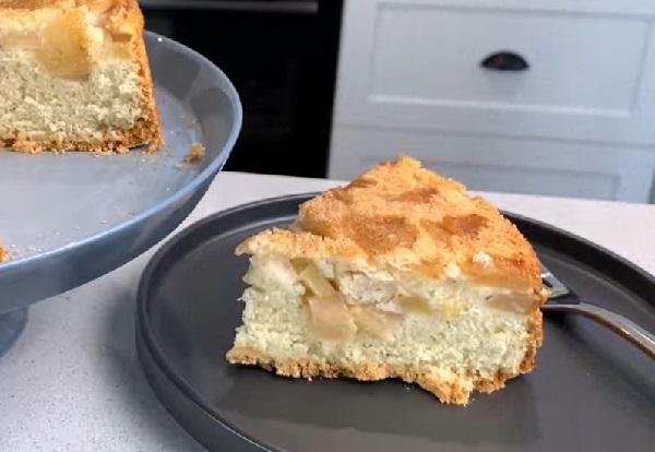 Рецепт пирога шарлотка