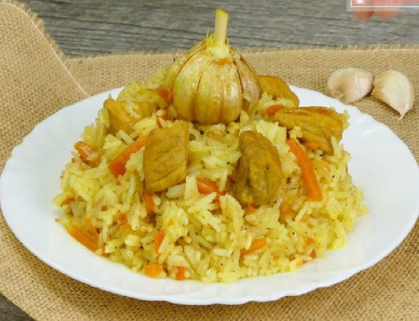 Плов с курицей на сковороде пошаговый рецепт