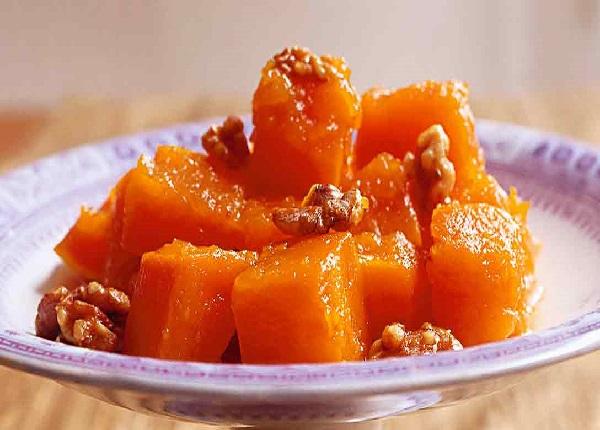 Десерт из тыквы в духовке простые рецепты