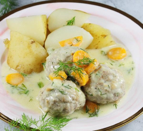 Рецепт тефтелей с подливкой на сковороде