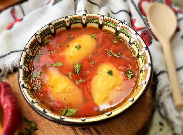 Суп с клецками пошаговый рецепт с курицей