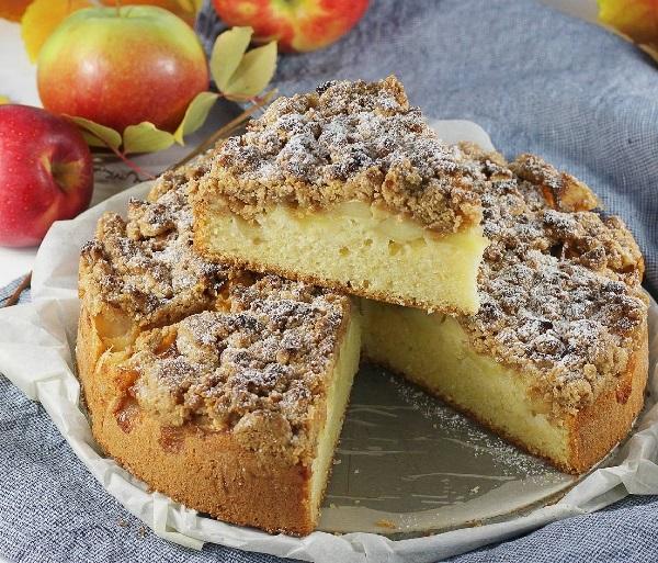 Вкусный яблочный пирог лучший рецепт шарлотка