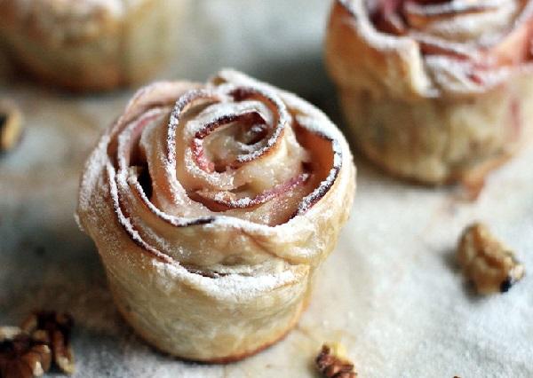 Рецепт печенья с яблоками в духовке