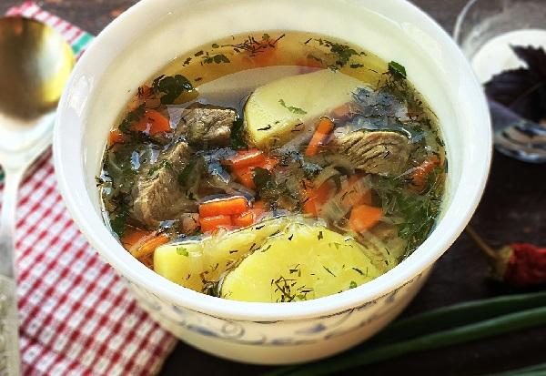 Суп из говядины простой рецепт