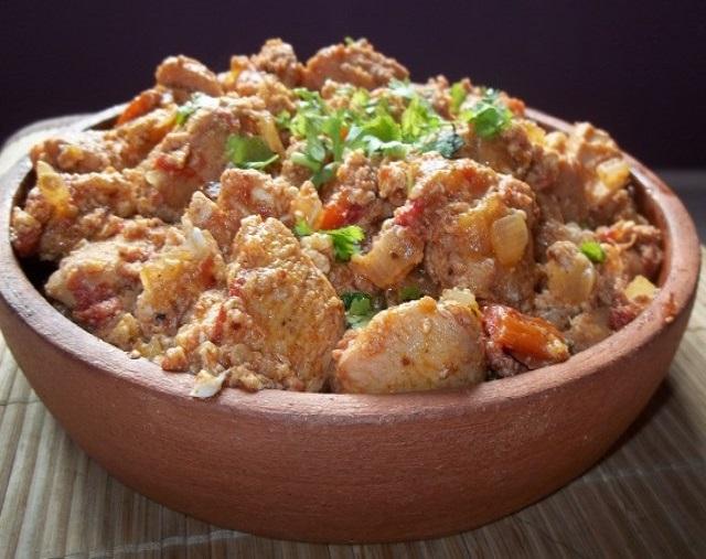Приготовление чахохбили из курицы по грузински пошаговый