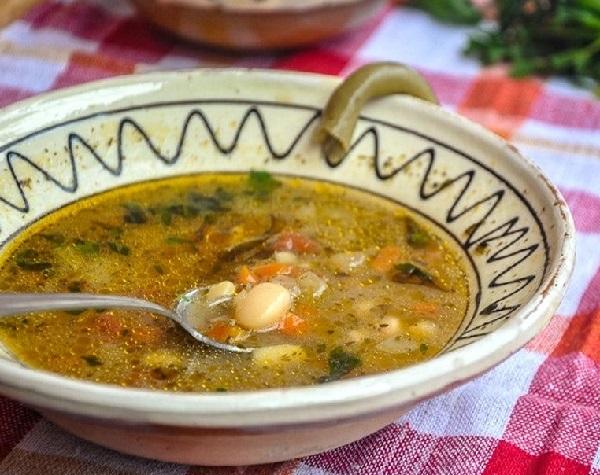 Постный фасолевый суп из белой фасоли рецепт