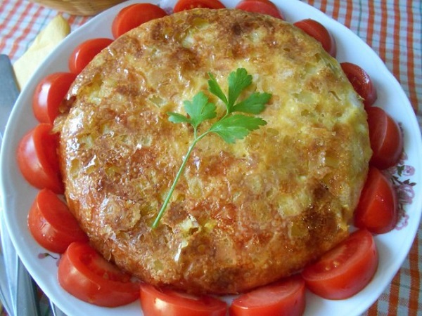 Рецепт омлета в духовке