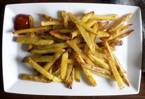 Картошка фри в духовке рецепт домашних условиях