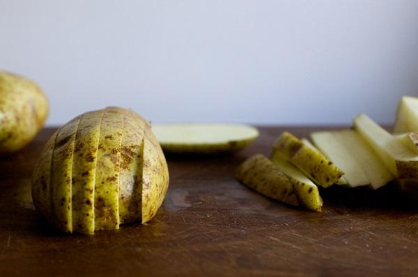 Хрустящая картошка фри в духовке