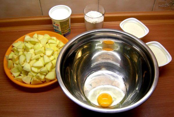 Яблочные оладьи рецепт