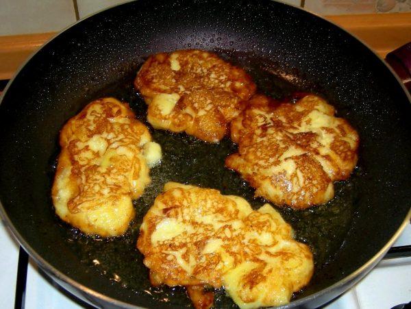 Яблочный оладьи рецепт с фото пошагово