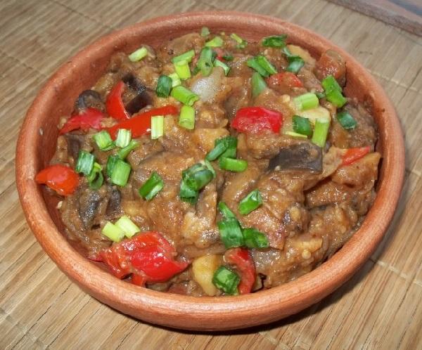 Аджапсандали по грузински рецепт