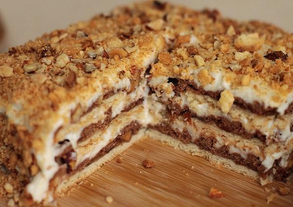 Рецепт песочного торта в домашних условиях