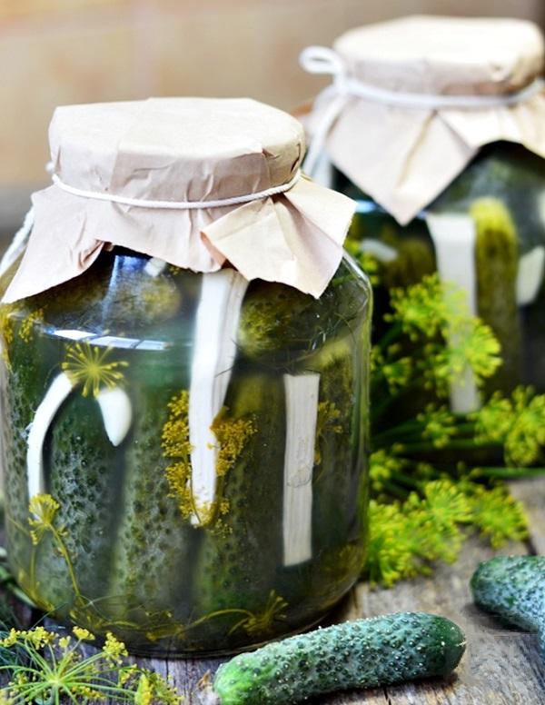 Огурцы соленые на литровую банку рецепт на зиму