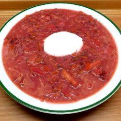 Рецепт свекольника классического горячего с мясом