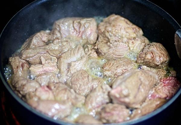 Рецепт тушеной фасоли с мясом