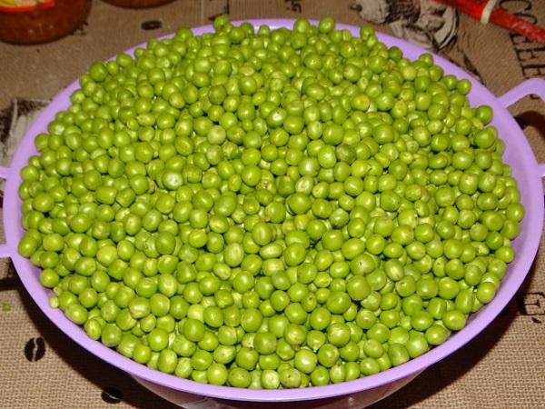 Рецепт консервированного зеленого горошка в домашних условиях