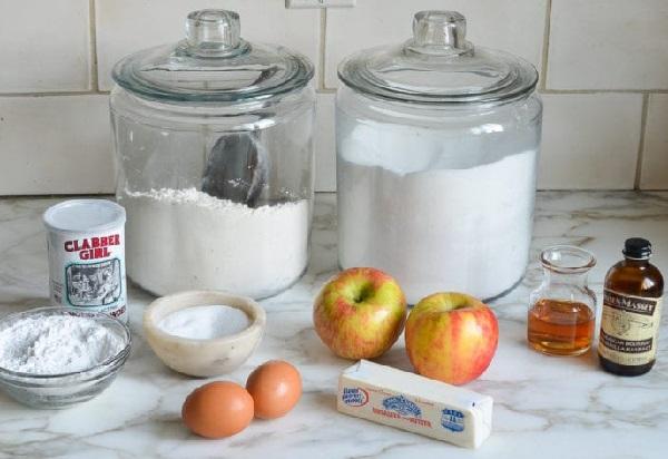 Ингредиенты рассчитаны на небольшую круглую форму