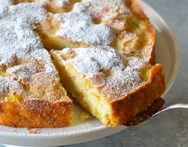 Французский яблочный пирог рецепт с фото пошагово