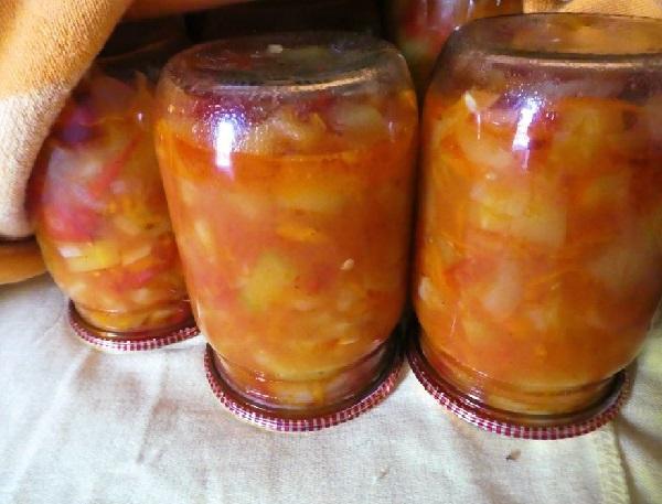 Салат из кабачков лечо на зиму рецепты