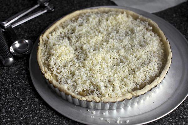 Французский луковый пирог рецепт с плавленным сыром