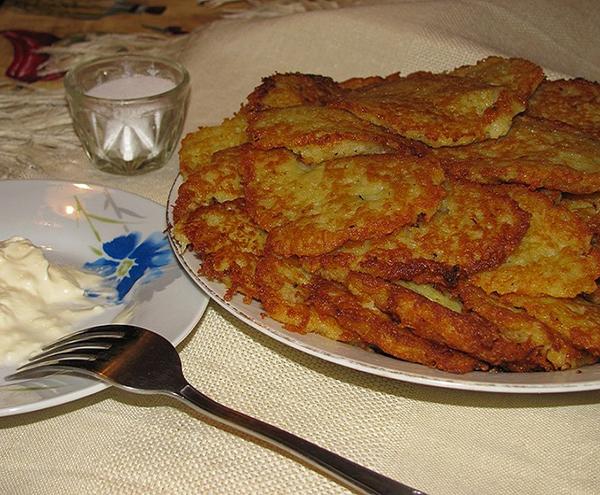 Драники рецепт из картошки классические